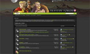 Travian Hint: Change Travian Forum Theme